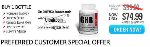 1 Bottle GHR Platinum for Men